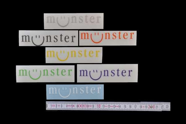Aufkleber - Münster lächelt klein