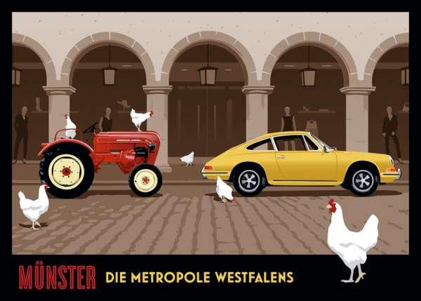 Poster Wentrup - Metropole 1 - Trecker quer
