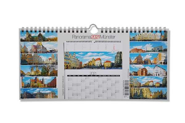 Wand-Jahreskalender 2021 - Münster Panorama