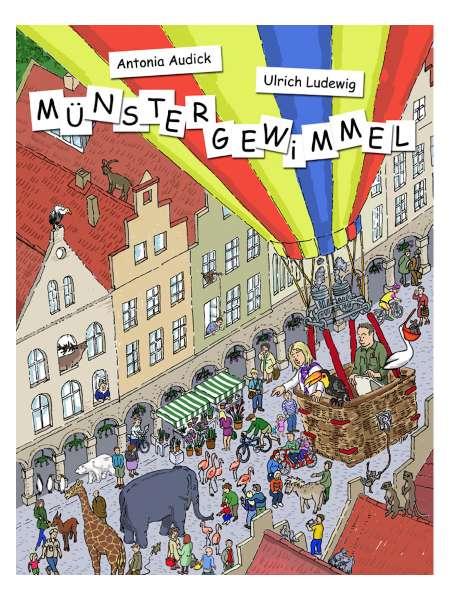 Buch Daedalus - Wimmelbuch - Münstergewimmel