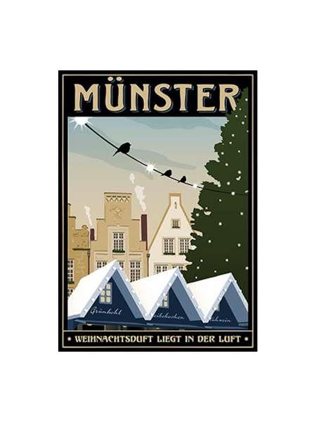 Postkarte Wentrup - Weihnachtsduft in Münster