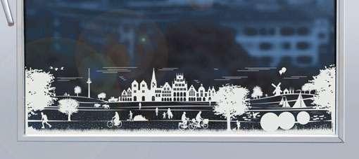 Fensterfolie JHD - Panorama Münster