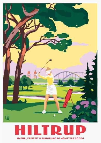 Postkarte Wentrup - Hiltrup