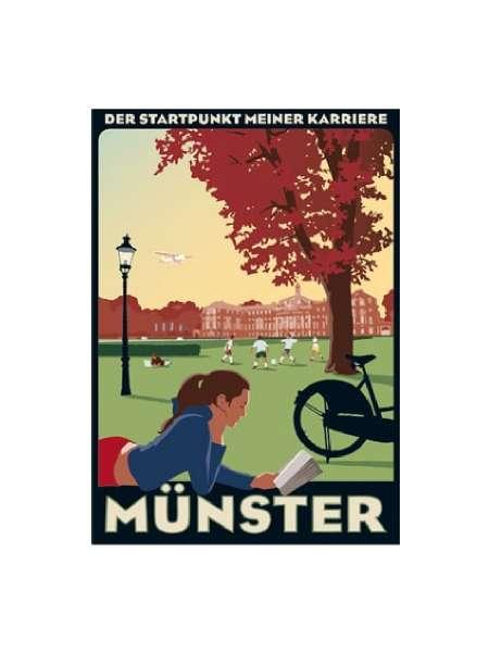 Postkarte Wentrup - Schloss - Westfälische Wilhelms Universität Münster