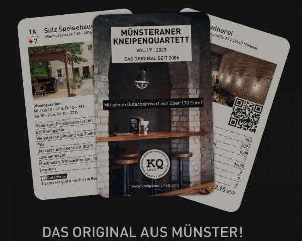 Kneipenquartett Münster 2020 - Sonnendeck