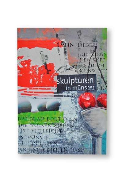Postkarte groß Ottenjann - Skulptur