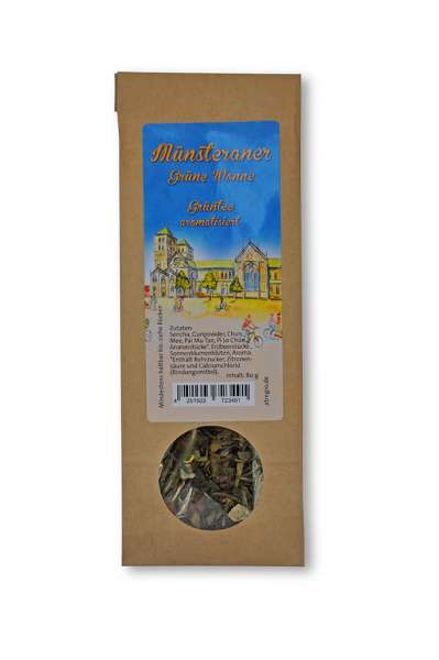 Münsteraner Grüne Wonne - Grüntee aromatisiert