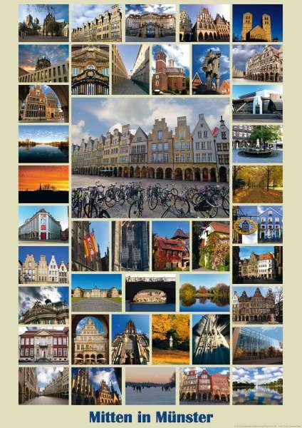 Poster Mitten in Münster mmm
