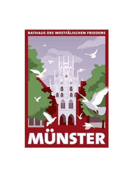 Postkarte Wentrup - Rathaus des Westäflischen Friedens