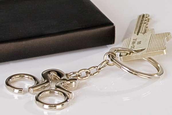 Schlüsselanhänger - Radler