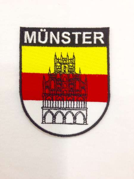 Aufnäher -Stick Wappen Münster