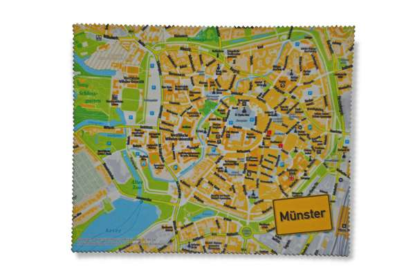 Mousepad - Münster Stadtplan