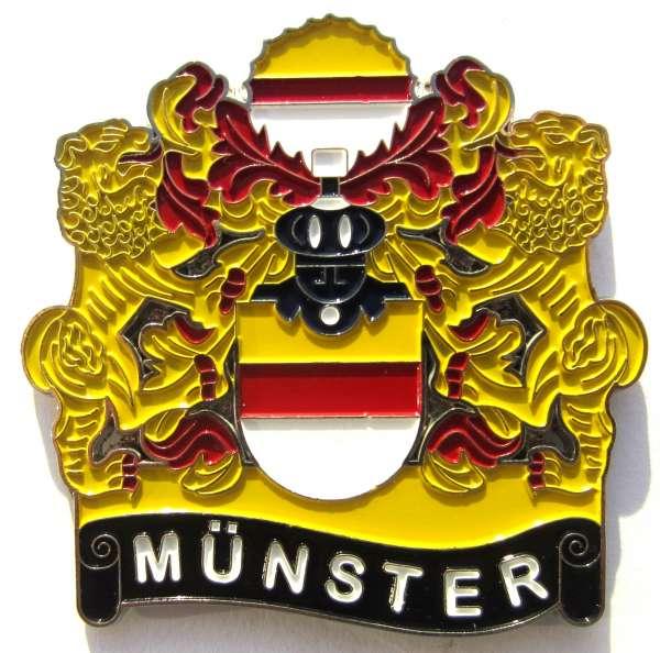 Magnet - Historisches Wappen Münster