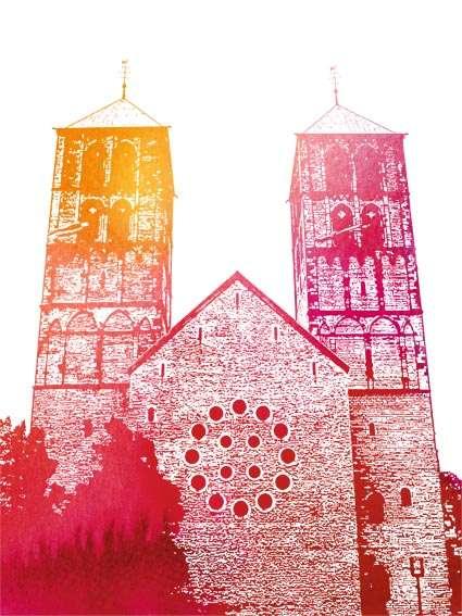 Postkarte St.-Paulus-Dom Utermann