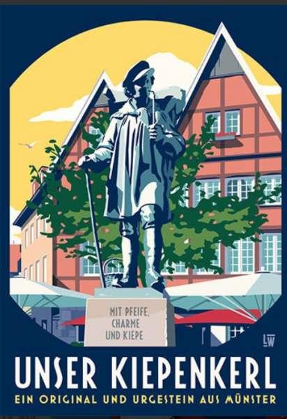 Postkarte Wentrup - Unser Kiepenkerl