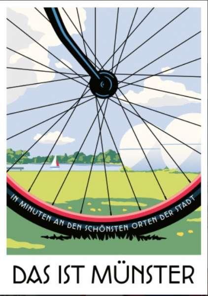 Postkarte Wentrup - Das ist Münster