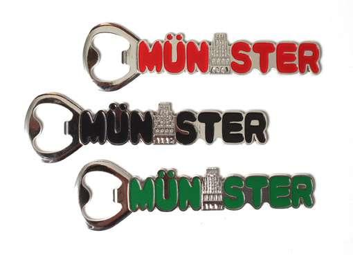 Flaschenöffner Münster - magnetisch