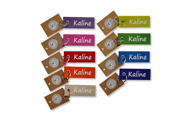 Filzschlüsselanhänger - klein/flach - Kaline