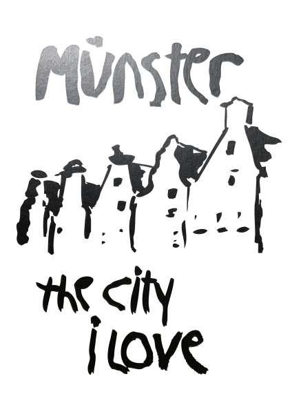 Postkarte Ottenjann - Münster - the city I love