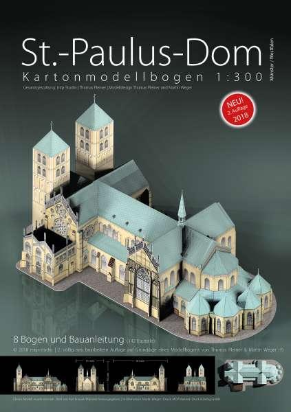Kartonmodellbogen - St.-Paulus-Dom Münster