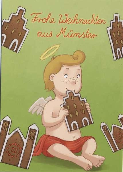 Postkarte Wendelin Kekse mmm