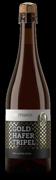 Gold-Hafer-Tripel * Obergäriges Starkbier * Gruthaus Brauerei