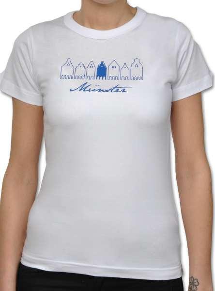Damen T-Shirt Sonnendeck - Giebelhäuser