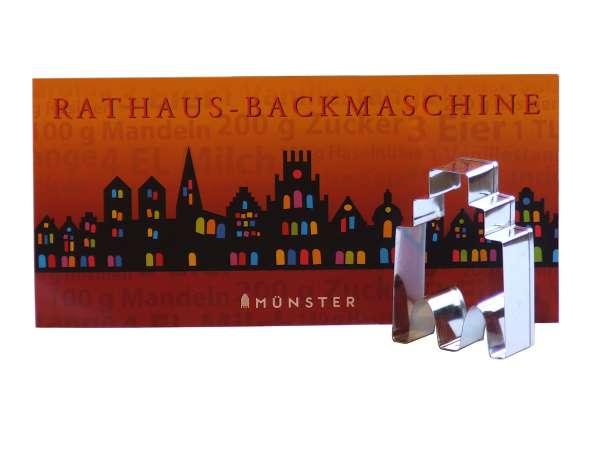 Ausstechform - Rathaus Backmaschine